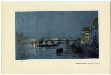 1926 LONDON County Hall South Bank CHARING CROSS Vintage Print DONALD MAXWELL